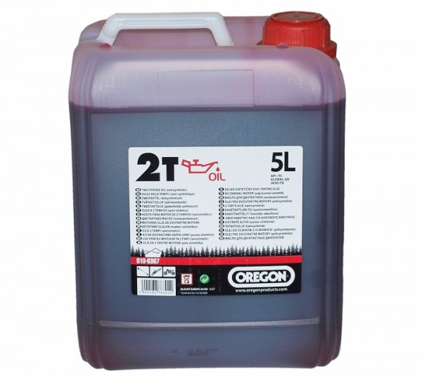 OREGON ulje za 2-taktne motore crveno 5L  010-6367