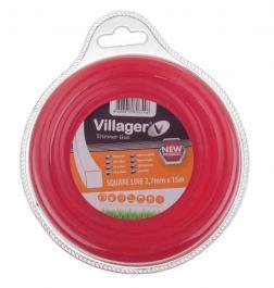 VILLAGER najlonska nit/flaks 3.0mm x 15m - četvrtasta   034055