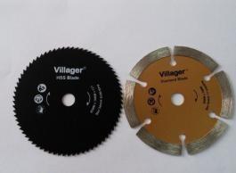 VILLAGER list za metal HSS 85mm za VLP600  040678