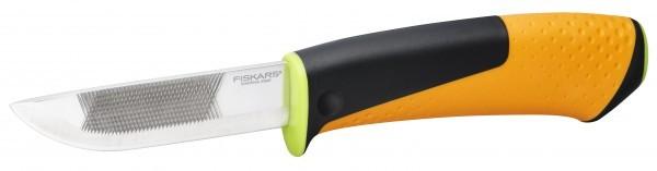 FISKARS nož ojačani s oštrilicom  1023619