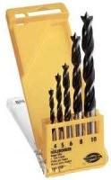 HAWERA svrdla za drvo kpl 4-5-6-8-10mm  104958