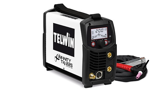 TELWIN TIG inverter INFINITY 225 DC-HF/LIFT VRD 816089