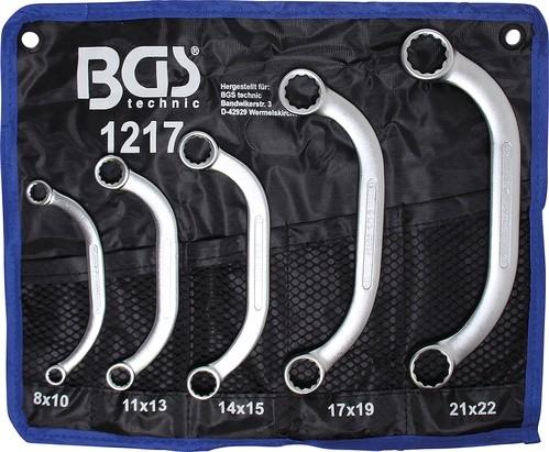 BGS ključ za starter i blok u setu 8-22mm 5-dij. pro+ 1217