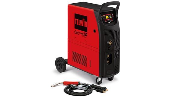 TELWIN mig/mag inverter Synergic pulsni Electromig 330 Wave