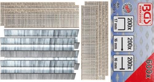 BGS ulošci i čavlići za klamericu 3010, 600kom 3010-1