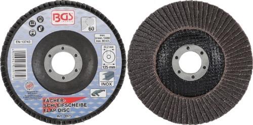 BGS lamelasti brusni disk 125mm za Inox K60 pro+  3975
