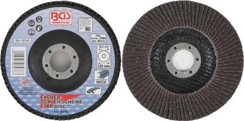 BGS lamelasti brusni disk 125mm za Inox K80 pro+  3976