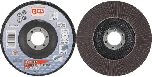 BGS lamelasti brusni disk 125mm za Inox K120 pro+  3977