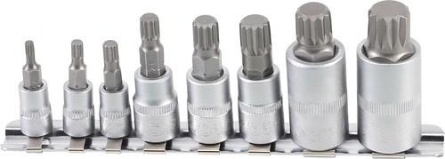 BGS set bitova nasadnih SPLINE (XZN) M4-M16 1/4- 3/8-1/2   5105