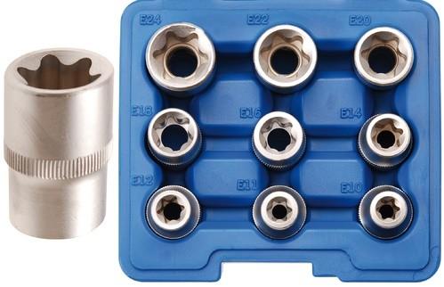 BGS set nasadnih ključeva E10-E24 1/2 9dj. pro+  6425