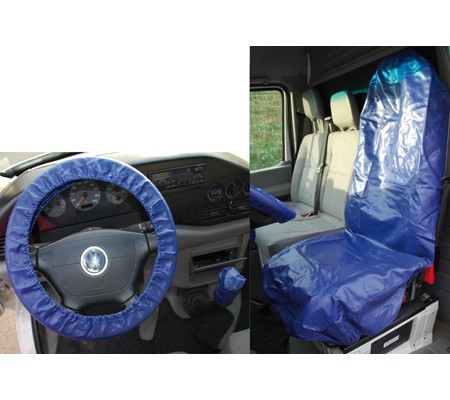 BGS univerzalna zaštita sjedala i volana,sintetička koža 66529