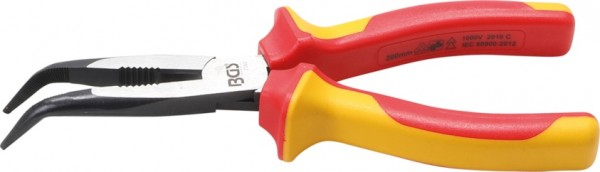 BGS kliješta šiljasta kosa 200mm VDE 1000V pro+  7153