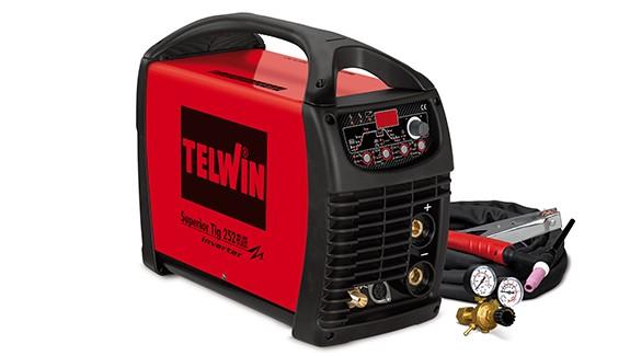TELWIN TIG inv. SUPERIOR TIG 252 250A, AC/DC-HF/LIFT+pribor 816117