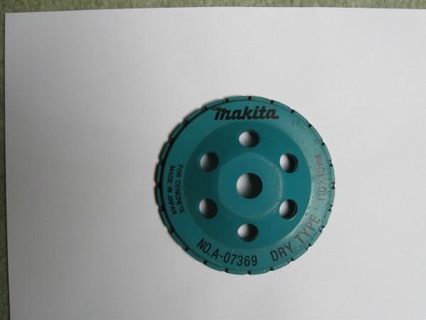 MAKITA dijamantna brusna ploča 110x15 mm A-07369