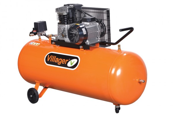 VILLAGER kompresor AB 200/4 (200l,10bar,3kW) 023573