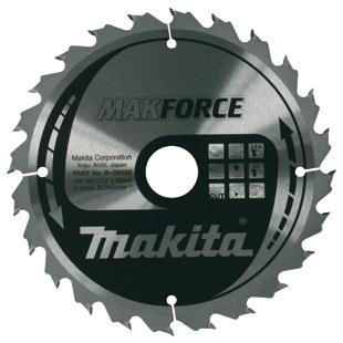 MAKITA  kružni list 190x30/20/16x24z makforce  B-08355