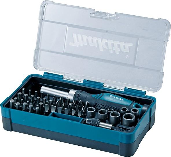 MAKITA 47-dijelni set nasadnih ključeva i bitova B-36170-10   MAG 1/21