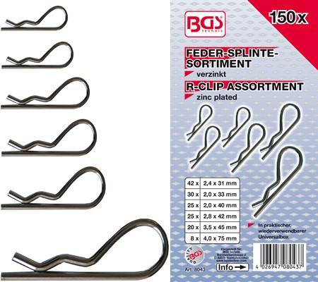 BGS set osigurača 150 kom pro+ 8043