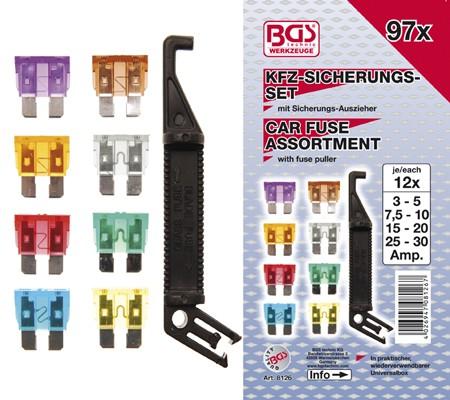 BGS Set auto osigurača 97dj. pro+ 8126