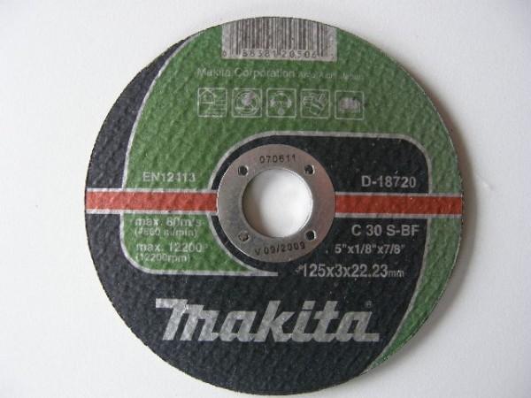 MAKITA rezna ploča  125x3x22  C D-18720