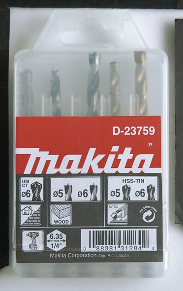 MAKITA set svrdala D-23759