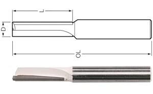 MAKITA glodalo za utore 1, ravno 3x13x51 mm   D-47379