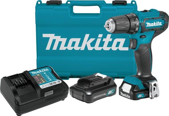 MAKITA akumulatorska bušilica-odvijač DF333DWYE  TNC 21
