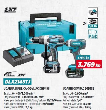 MAKITA akumulatorski set DLX2145TJ