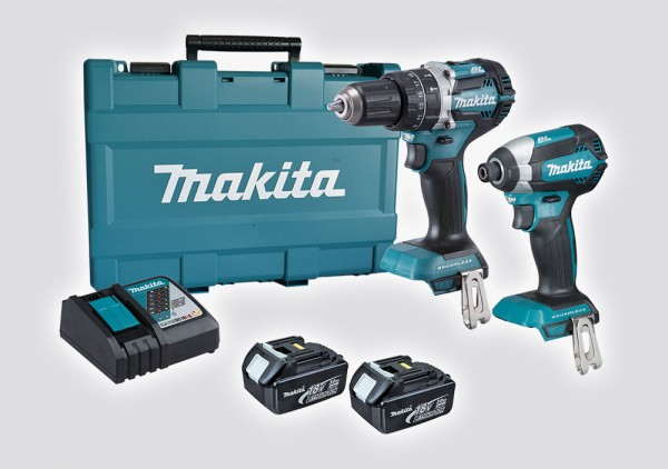 MAKITA akumulatorski set DLX2180X