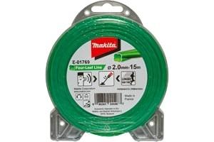 MAKITA najlonska nit, zelena 2.0mm/15m E-01769