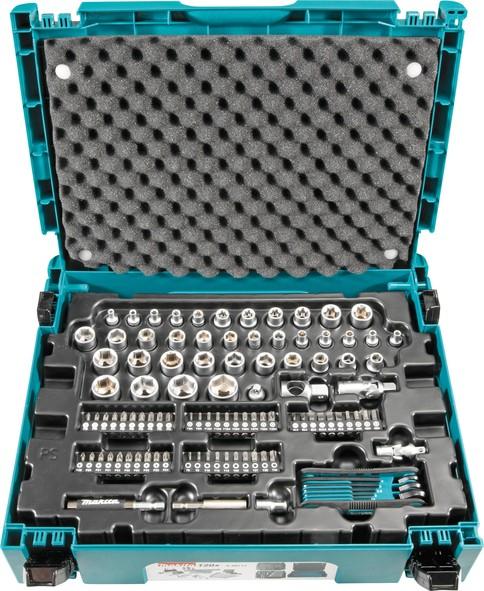 MAKITA 120 dijelni komplet ručnog alata u MAKPAC koferu E-08713