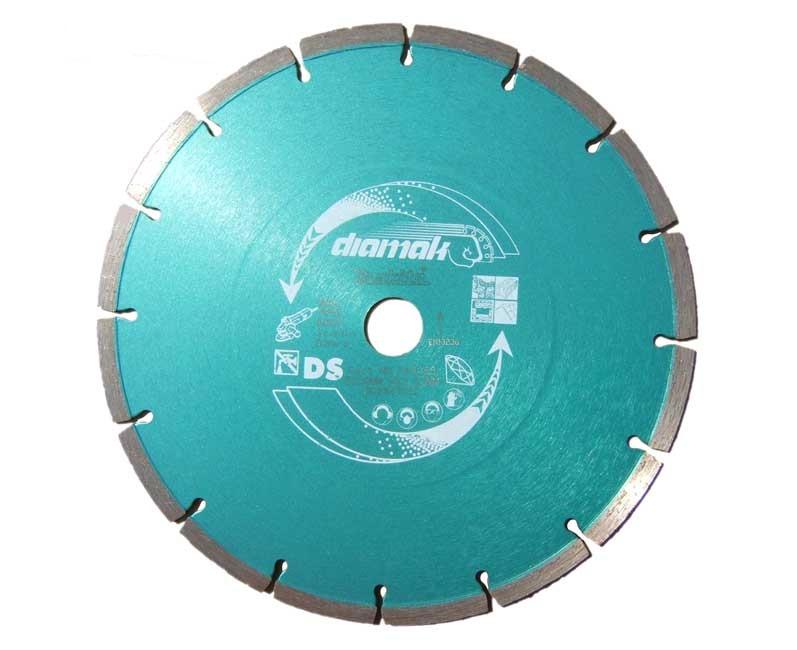 MAKITA  dijamantna ploča 230x22,23x2,6 segmentirana,univerzalna P-44155