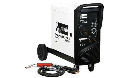 TELWIN mig-mag/flux/brazing/mma/tig DC 816126 MAXIMA 270