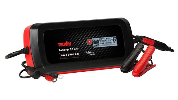 TELWIN aut. multi. punjač T-CHARGE 20EVO 12/24V  807596