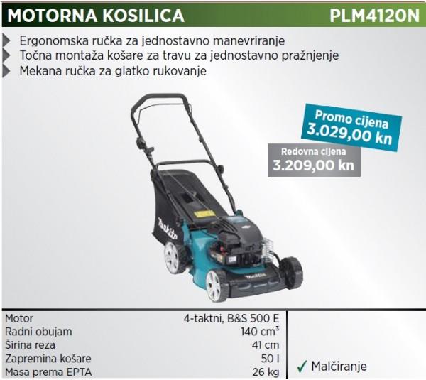 MAKITA rotacijska kosilica PLM4120N  rasprodaja