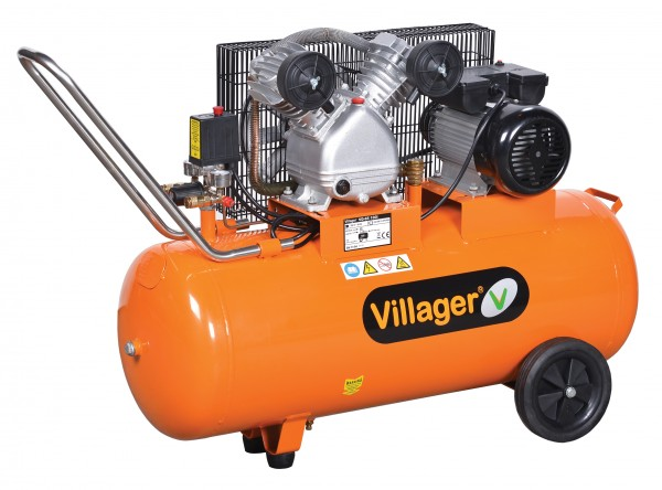 VILLAGER  VAT VE100L (100l,8bar,330l/m,2,2kW) 020183