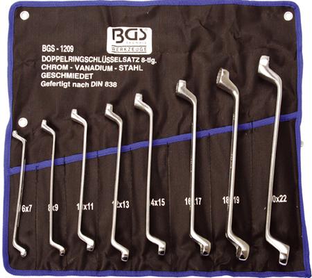 BGS set okastih ključeva 6x7-20x22mm 8-dijelni pro+  1209 promo