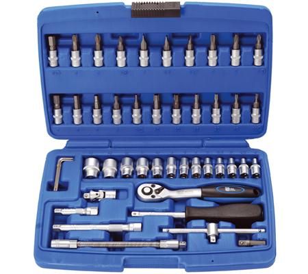 BGS set nasadnih ključeva i bitova 4-14mm 1/4' 46dj. pro+ 2145