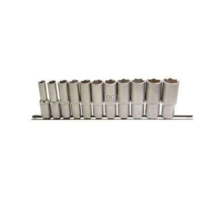 BGS set nasadnih ključeva dugih 8-19mm 3/8' 11-dijelni  pro+  2222