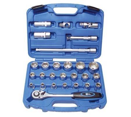BGS set nasadnih ključeva i bitova  8-32mm 1/2' 27-dijelni  pro+  2224  promo