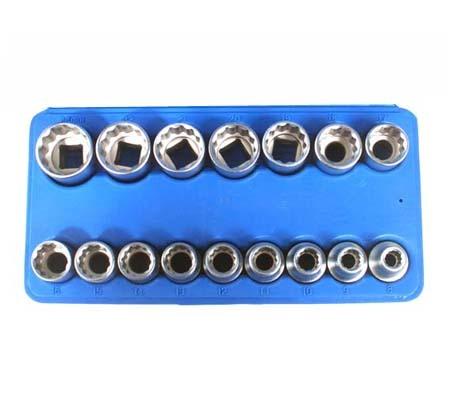 BGS set nasadnih ključeva 10-24mm 1/2' 12-dijelni pro+  2226