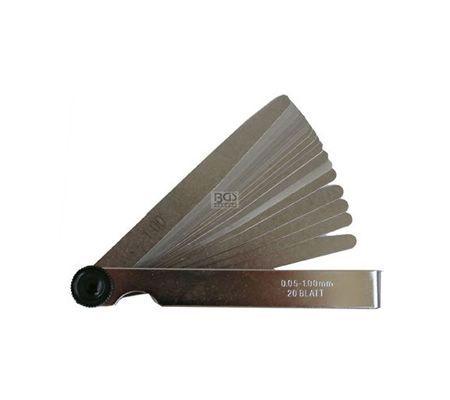 BGS mjerni listići 0,05-1,0mm (20 listića)   3083