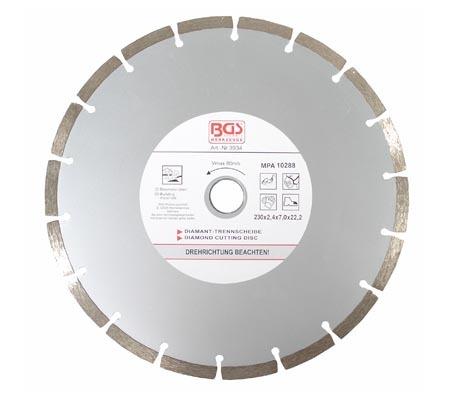 BGS dijamantna ploča 230mm segmentirana pro+  3934