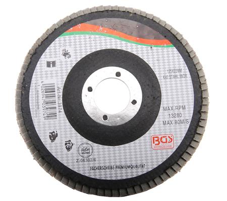 BGS lamelasti brusni disk 115mm za inox k120  3972