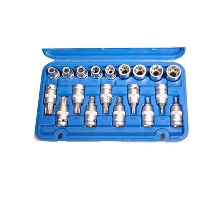 BGS set nasadnih ključeva torx t20-t70 e10-e24 1/2' 19dj. pro+  5100