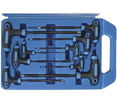 BGS set torx ključeva sa T ručicom T10-T50 9-dijelni  7880 promo