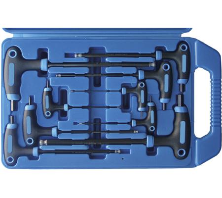 BGS set imbus ključeva s T-ručicom 2x100-10x200mm 9-dijelni  7882 promo