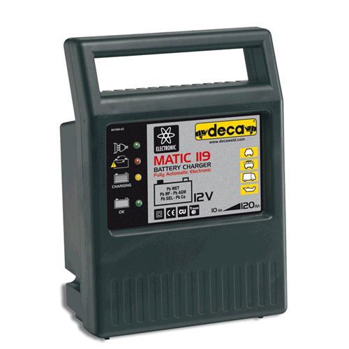DECA  punjač  (10-120Ah,12V)   MATIC 119  300500