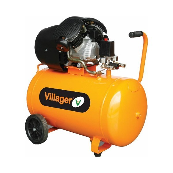 VILLAGER kompresor VAT VE100D (100l,8bar,316l/m,2,2kW) 054057