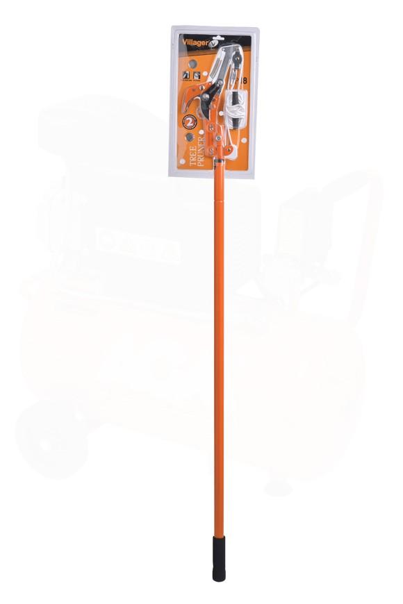 VILLAGER pila/škare  za grane s konopcem i drškom TP118 008017